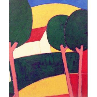 - Tableau - Provencal Paysage, 1997 - - Donne, Eithne