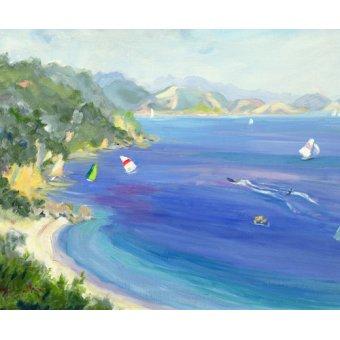 Tableaux de paysages marins - Tableau - Lichnos, Epirus, Greece, 1993 - - Durham, Anne