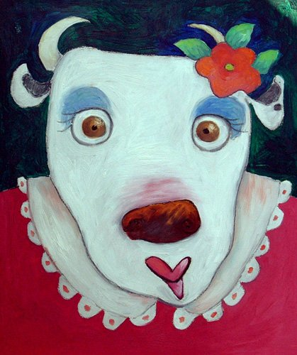 tableaux-pour-enfants - Tableau -Silly Cow (oil on canvas)- - Christie, Maylee
