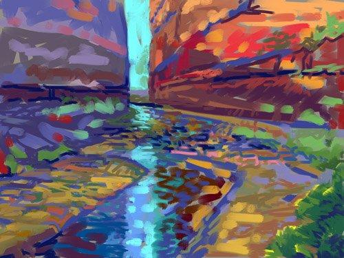 tableaux-de-paysages - Tableau - Filtered Light - - Ganz, Howard