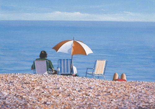 tableaux-modernes - Tableau -Tranquil Space (oil on canvas)- - Cook, Simon