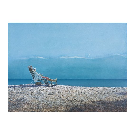 Tableau -Repose (oil on canvas)-