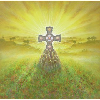 Tableaux religieuses - Tableau -Celtic Cross (acrylic on canvas)- - Cook, Simon