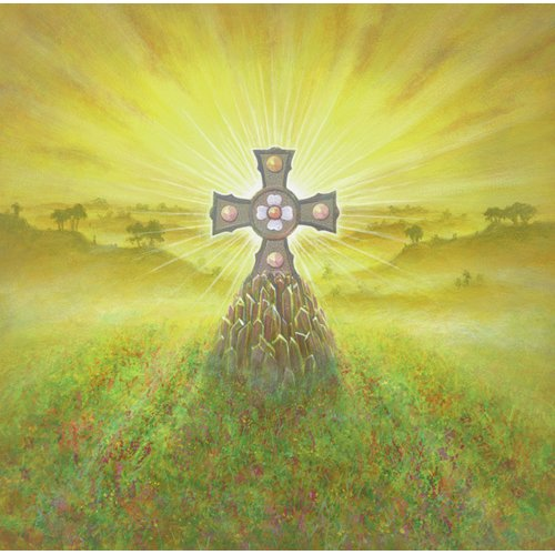 Tableau -Celtic Cross (acrylic on canvas)-