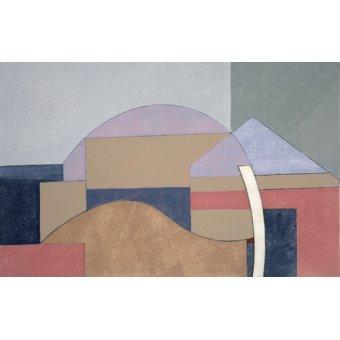 Tableaux abstraits - Tableau -Farm End, 2002 (oil on board)- - Dannatt, George
