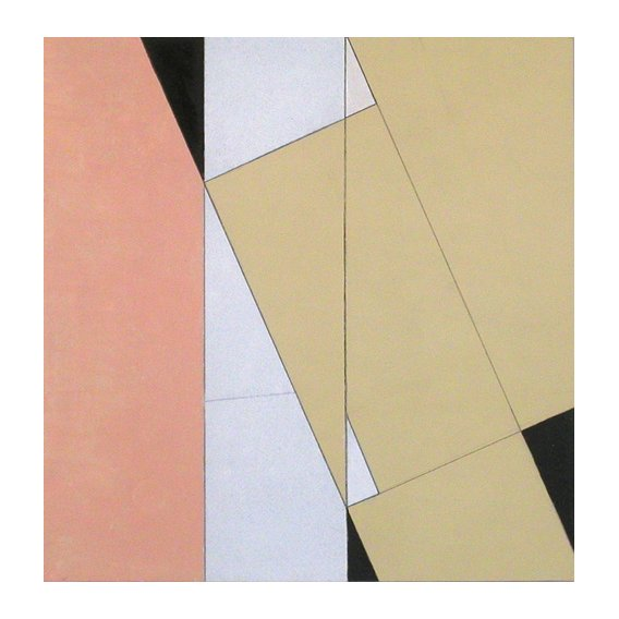 Tableau -Spatial Relationship, No 2, 2003 (oil on paper and board)-