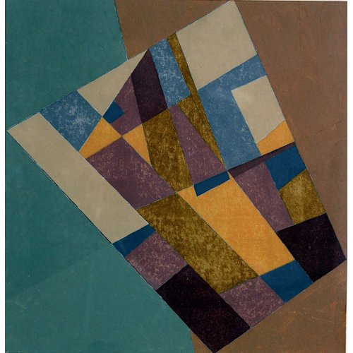 Tableau -Field Tapestry, 2003 (oil on card)-