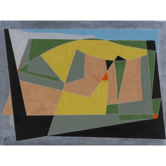 Tableaux abstraits - Tableau -A Landscape by the Sea, 2007 (oil on board)- - Dannatt, George