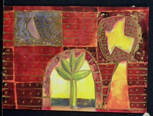 tableaux-modernes - Tableau -Bird Song, 1996- - Davidson, Peter