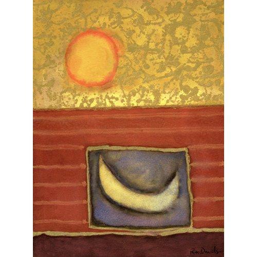 Tableau -The Sun Rises While the Moon Sleeps-