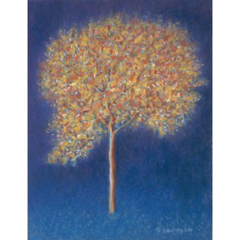 Tableaux abstraits - Tableau -Tree in Blossom- - Davidson, Peter
