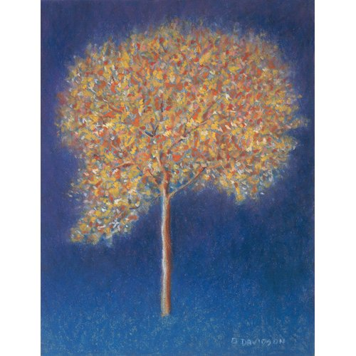 Tableau -Tree in Blossom-