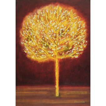 Tableaux abstraits - Tableau -Blossoming Tree- - Davidson, Peter