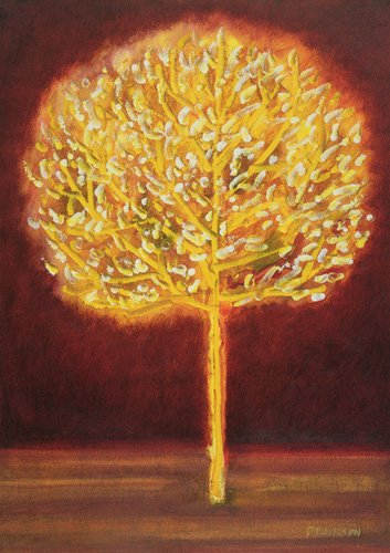 tableaux-modernes - Tableau -Blossoming Tree- - Davidson, Peter