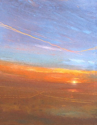 tableaux-modernes - Tableau -Sunset, 2007- - Decent, Martin