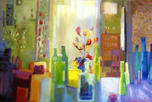 tableaux-modernes - Tableau -Still Life, 2004- - Decent, Martin
