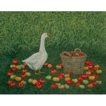 Tableaux de faune - Tableau -The Apple Basket- - Ditz