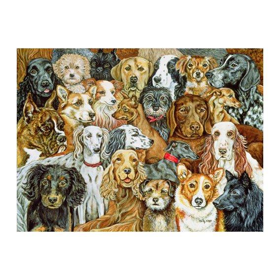 Tableau -Dog Spread, 1989-