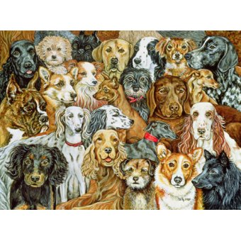 - Tableau -Dog Spread, 1989- - Ditz