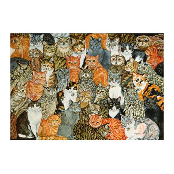 Tableau -The Owls and the Pussycats-
