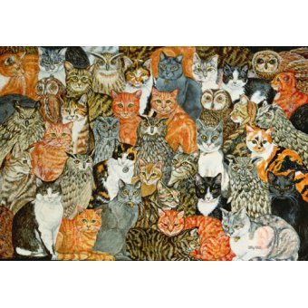 Tableaux de faune - Tableau -The Owls and the Pussycats- - Ditz