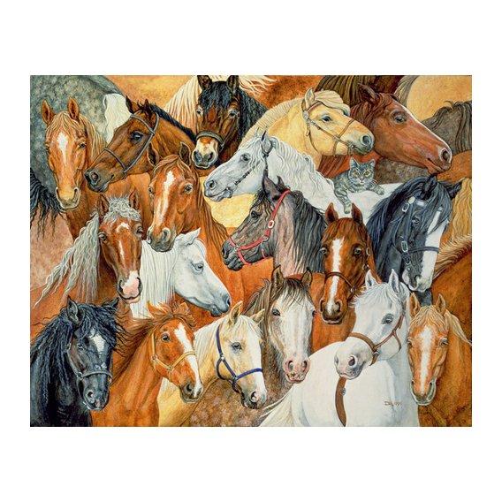 Tableau -Dee's Horse-Blanket-