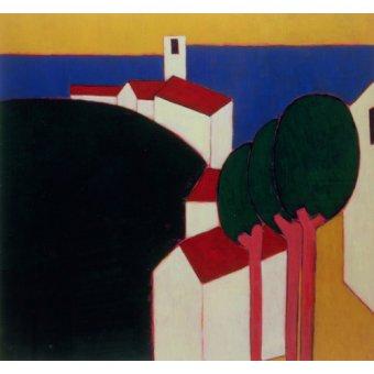 Tableaux de paysages - Tableau -In the Luberon, 2000- - Donne, Eithne
