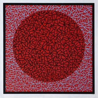 Tableaux abstraits - Tableau -God's Navel- - Dunn, Alex