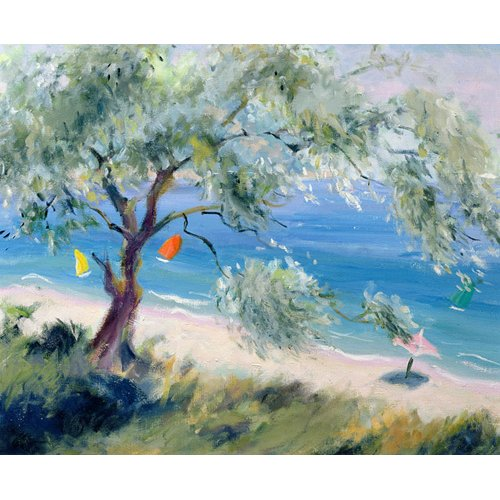 Tableau -Looking on to a beach-