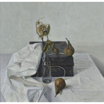 Tableaux nature morte - Tableau -The Box and Rotten Pears, 1990- - Easton, Arthur
