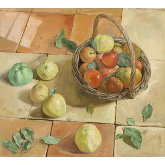 Tableaux nature morte - Tableau -The Apple Basket- - Easton, Timothy