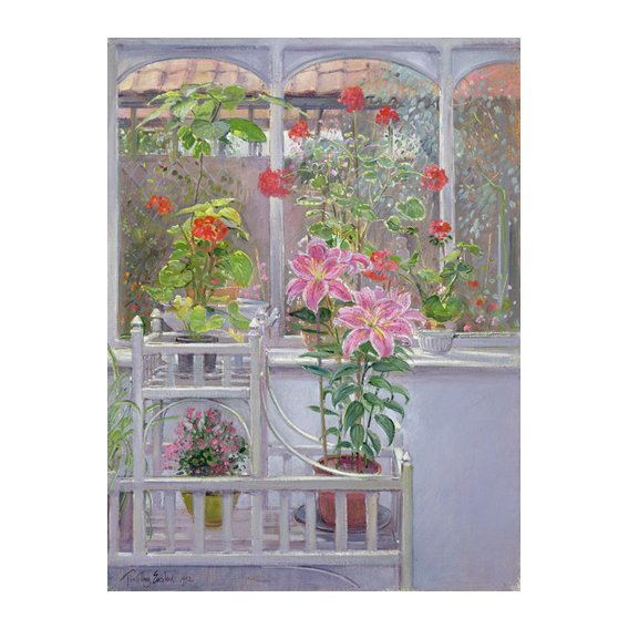 Tableau -Through the Conservatory Window, 1992 -