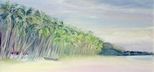 tableaux-de-paysages-marins - Tableau -Coco Beach, Goa, India, 1997- - Elliot, Sophia