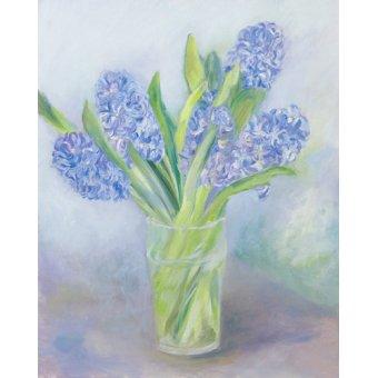 Tableaux de paysages marins - Tableau -Hyacinths- - Elliot, Sophia