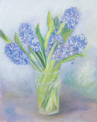 tableaux-de-paysages-marins - Tableau -Hyacinths- - Elliot, Sophia