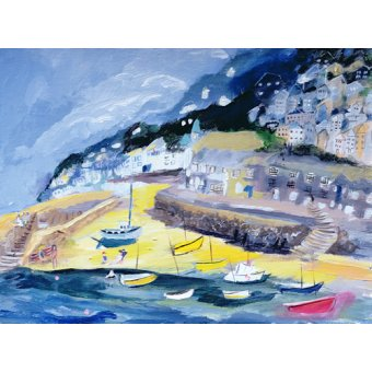 Tableaux de paysages marins - Tableau -Mousehole, Cornwall, 2005- - Elliot, Sophia