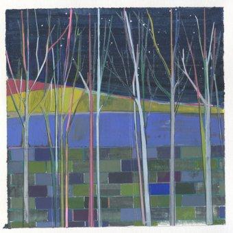 Tableaux de paysages - Tableau -stripes- - Evans, Charlotte