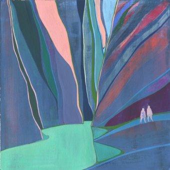 Tableaux de paysages - Tableau -Canyon- - Evans, Charlotte