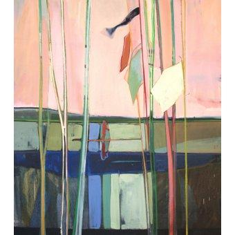 Tableaux de paysages - Tableau -red sky- - Evans, Charlotte