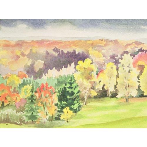 Tableau -No.64 Autumn, Beaufays, Liege, Belgium -