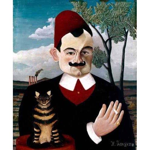 pinturas do retrato - Quadro -Retrato de Pére Loit-