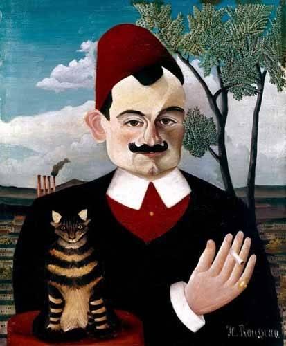 tableaux-de-personnages - Tableau -Retrato de Pére Loit- - Rousseau, Henri