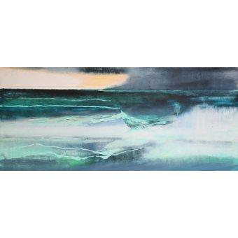 Tableaux abstraits - Tableau -Seascape- - Gibbs, Lou