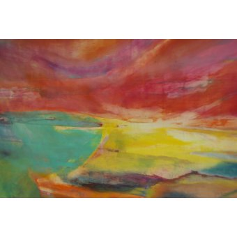 Tableaux modernes - Tableau -Between Land and Sea, Landscape, 2016- - Gibbs, Lou