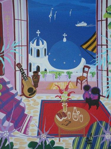 tableaux-de-paysages - Tableau -Santorini, 2012- - Hofer, Herbert