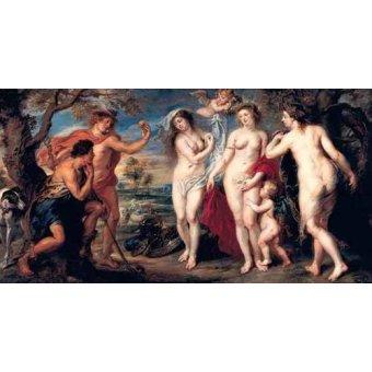 Tableaux de Nus - Tableau -Juicio de Paris- - Rubens, Peter Paulus