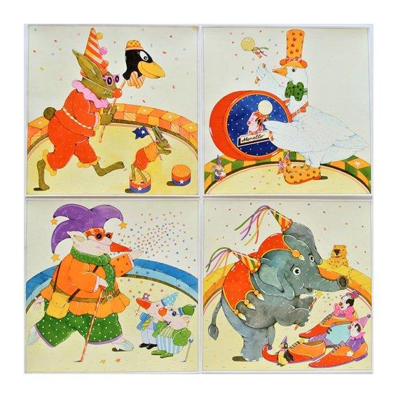Tableau -Animal Circus -