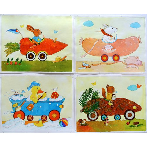 Tableau -Animal Cars-