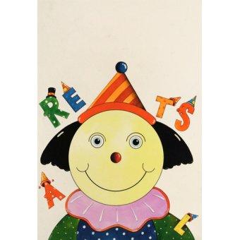 Tableaux pour enfants - Tableau -Party Clown- - Kaempf, Christian