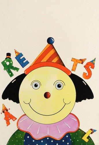 tableaux-pour-enfants - Tableau -Party Clown- - Kaempf, Christian